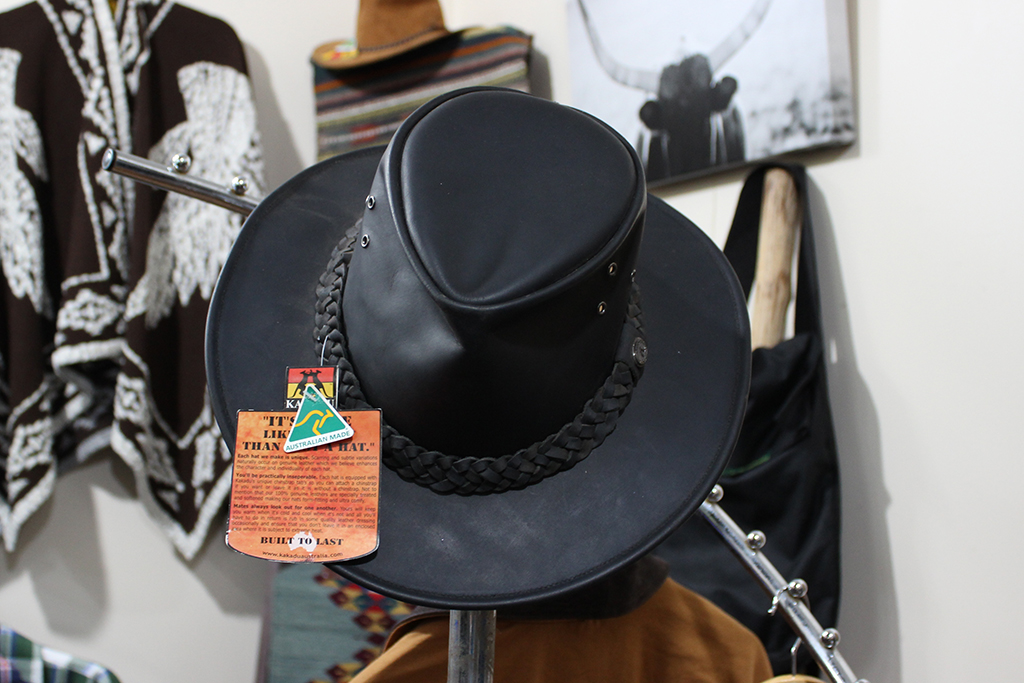 Traditional Leather Cowboy Hat